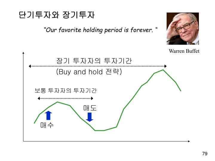 장기 투자자의 투자기간