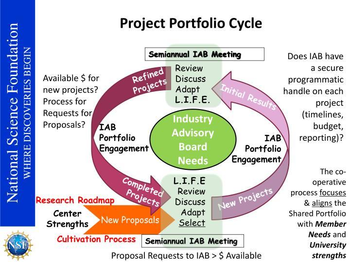 Project Portfolio Cycle