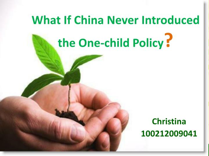 What If China Never Introduced the One-child Policy