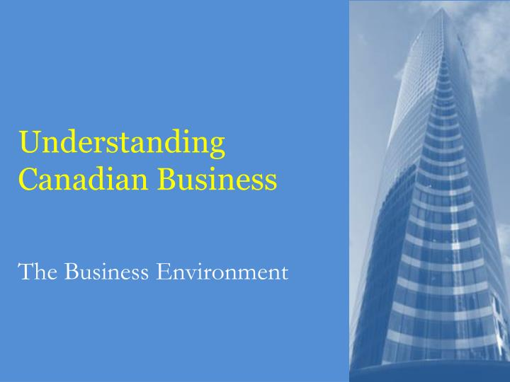 understanding the business environment Understanding the business environment define the private sector and give examples of types of private sector businesses the private sector is the part of a country's economic system that is run by individuals and companies, rather than the government.