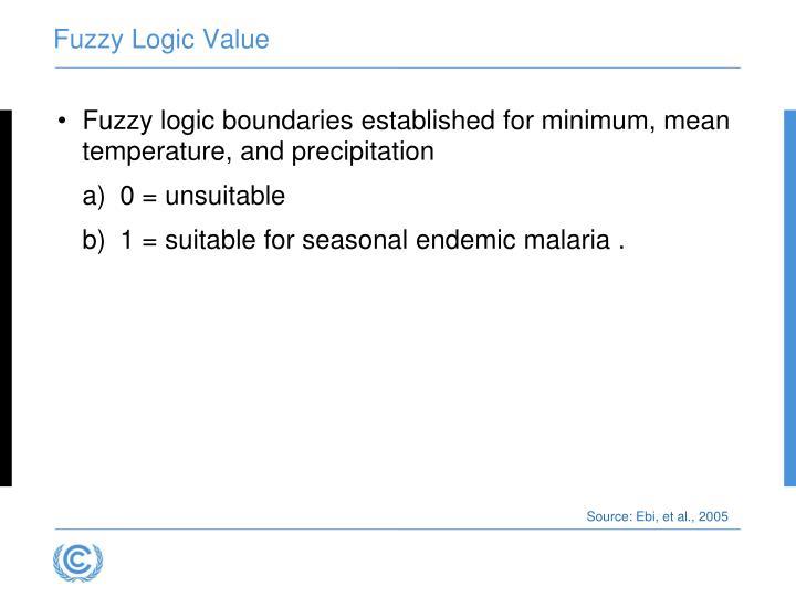 Fuzzy Logic Value