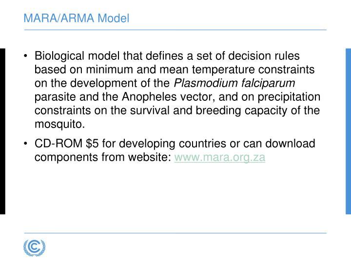 MARA/ARMA Model