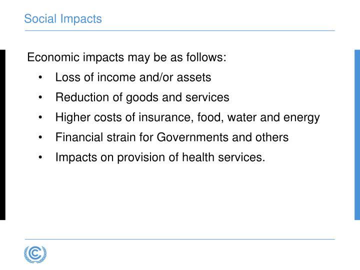 Social Impacts