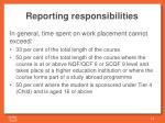 reporting responsibilities2