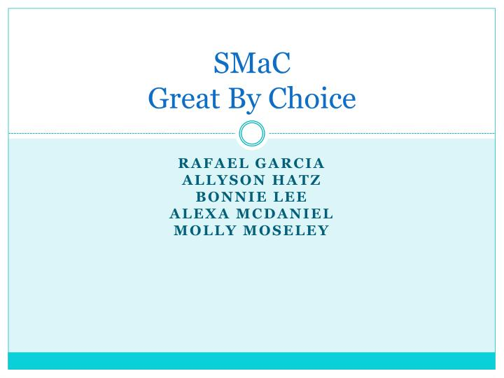 smac great by choice n.