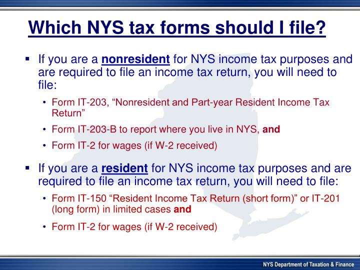 Ppt New York State Department Of Taxation And Finance Powerpoint