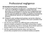 professional negligence1