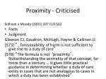 proximity criticised1