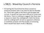 s 5b 2 waverley council v ferreira1