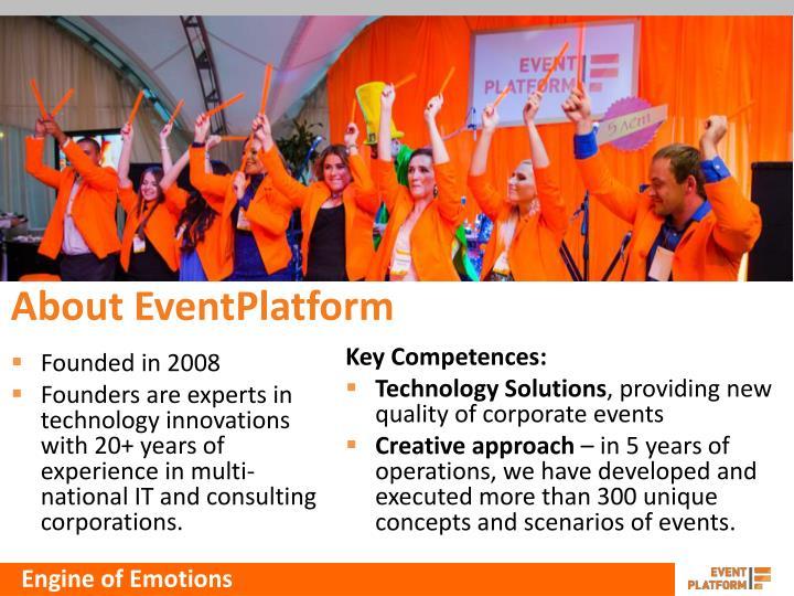 About eventplatform