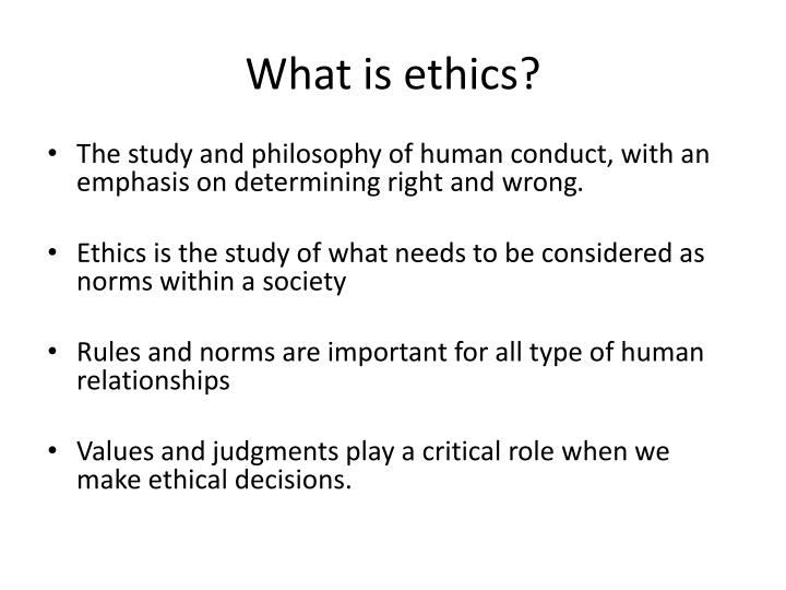 importance of values in business ethics