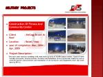 military projects13