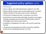 suggested policy options contd1