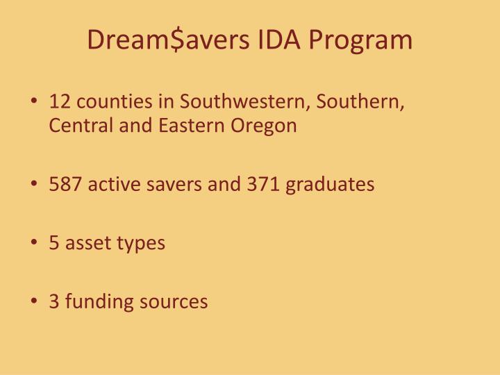 Dream$avers IDA Program