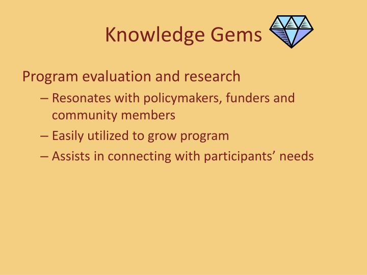 Knowledge Gems