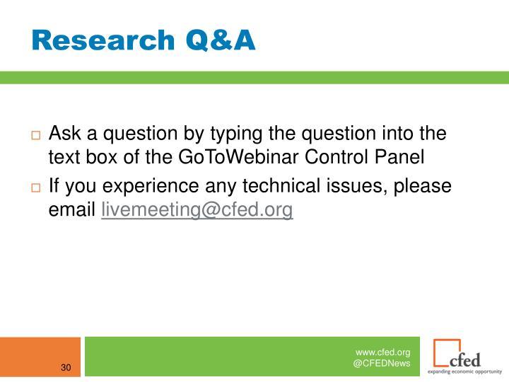 Research Q&A