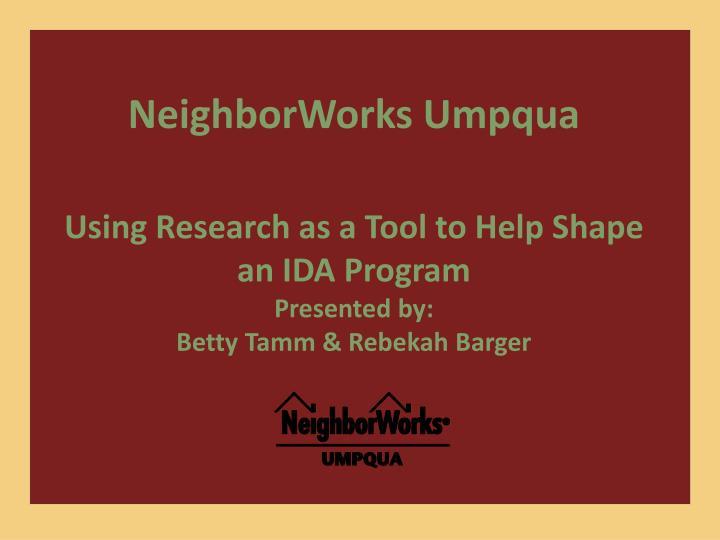 NeighborWorks Umpqua