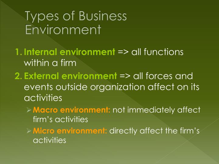 the external environment and its effect on business essay Because of its uncertainties business environment is are internal environment and external environment external factors can have an effect upon.