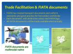 trade facilitation fiata documents