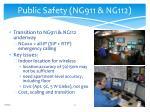 public safety ng911 ng112