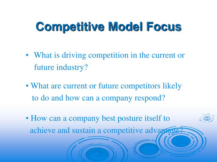 Competitive Model Focus