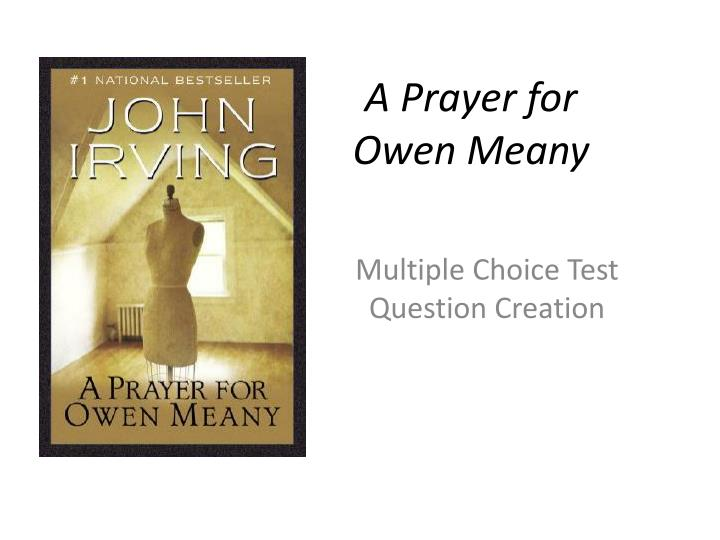 a prayer for owen meany n.