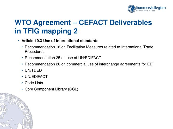 Ppt Wto Agreement On Trade Facilitation Highlights For Itpd