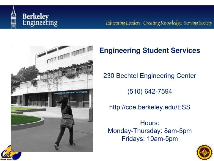 Engineering Student Services