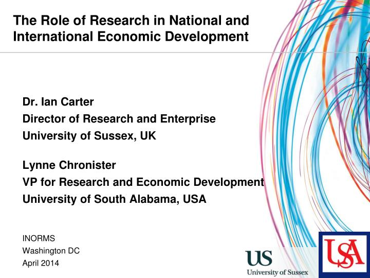 1 the role of business research