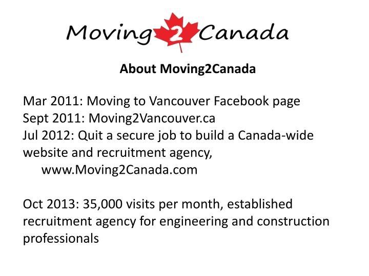 About moving2canada