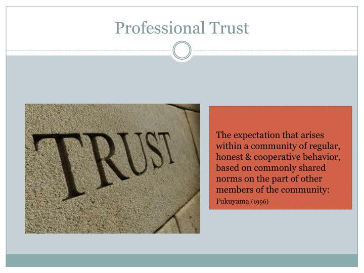 Professional Trust