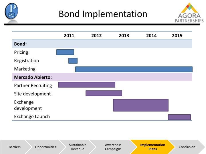 Bond Implementation