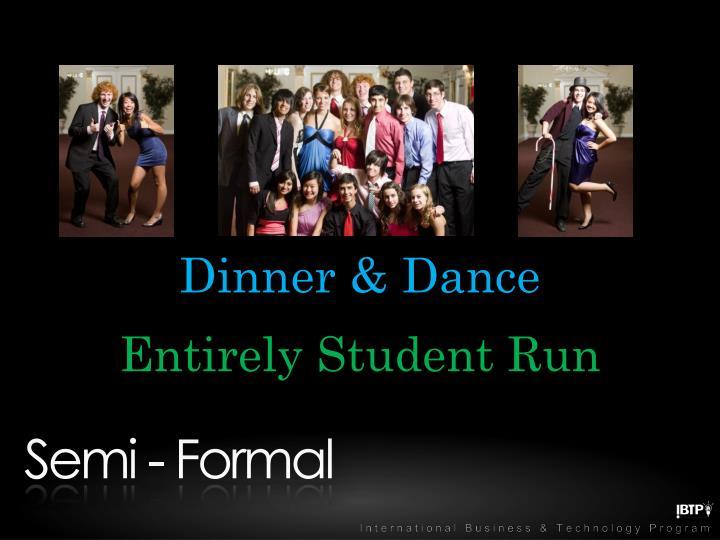 Dinner & Dance