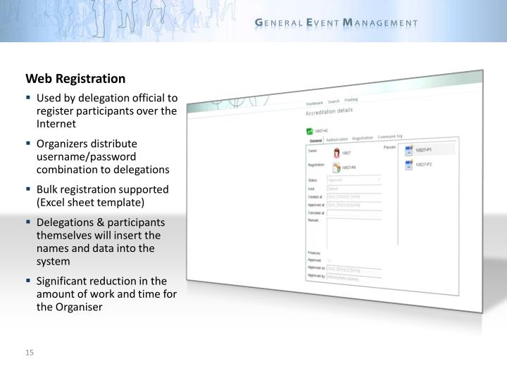 Web Registration
