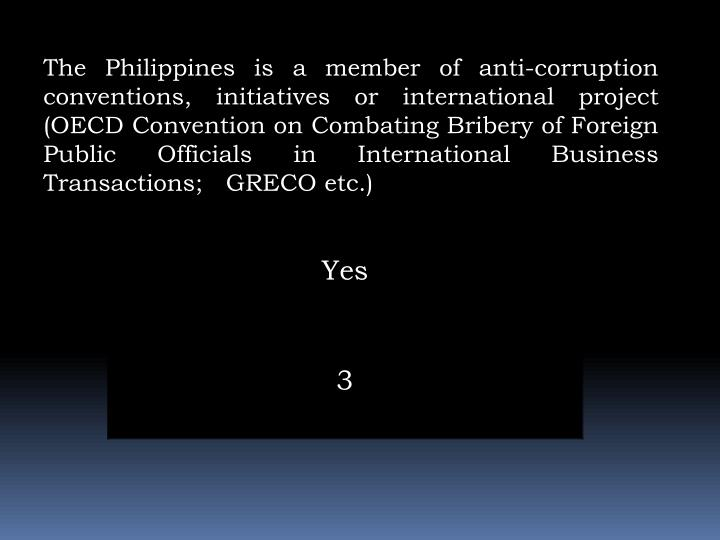 The Philippines is a member of