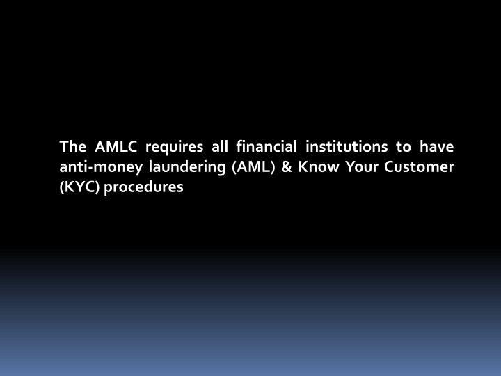The AMLC