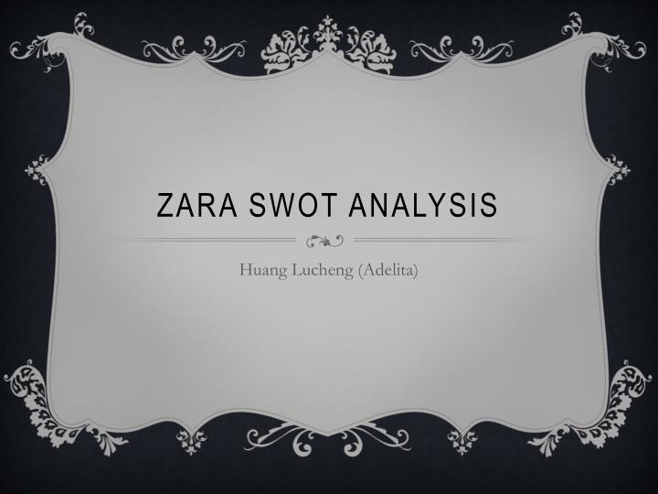 Ppt zara swot analysis powerpoint presentation id1685049 zara swot analysis toneelgroepblik