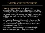 introducing the speakers3