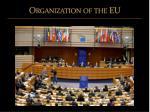 organization of the eu