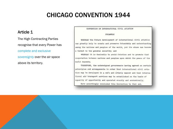 Chicago convention 1944