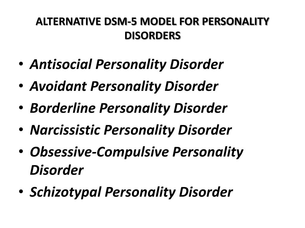 PPT - The Diagnostic and Statistical Manual of Mental