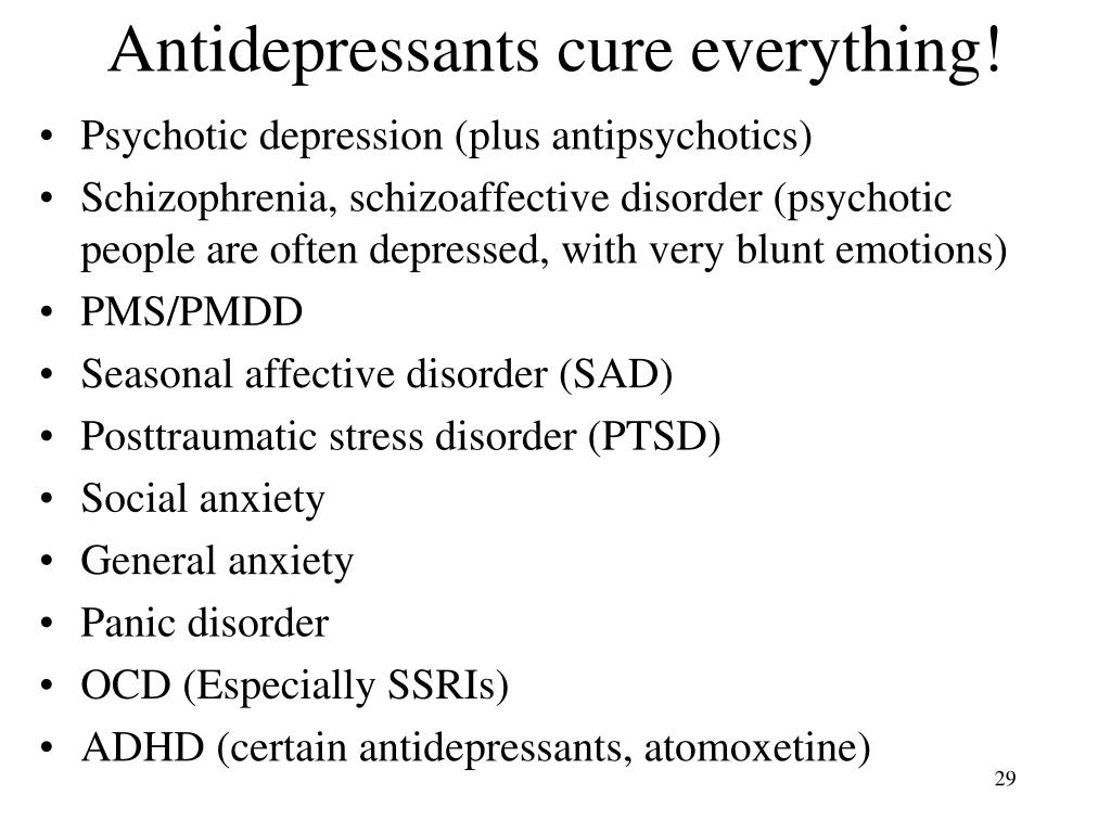 PPT - Depression and anxiety PowerPoint Presentation - ID