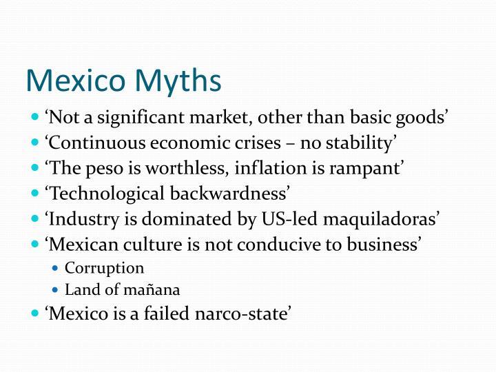 Mexico myths