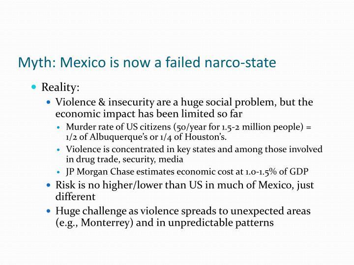 Myth: Mexico is now a failed