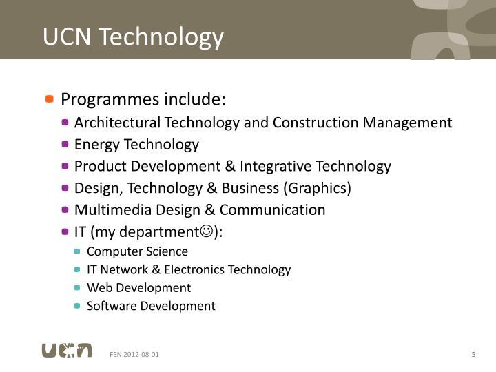 UCN Technology