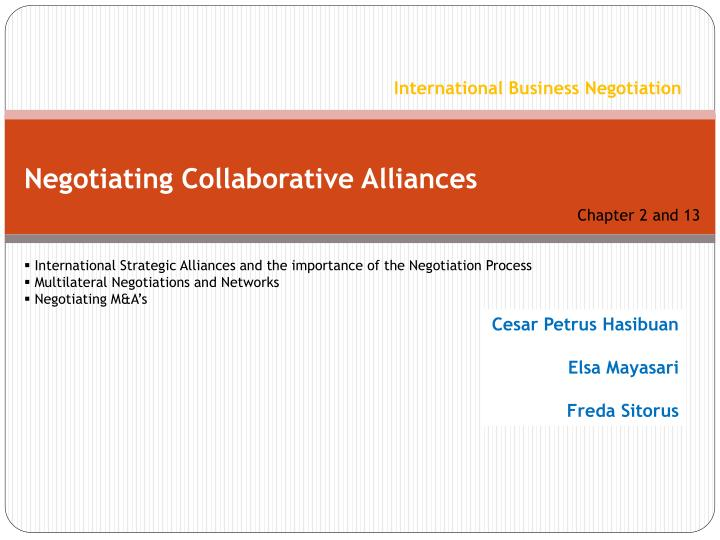 importance of negotiation ppt
