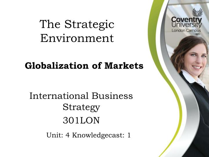International business strategy 301lon
