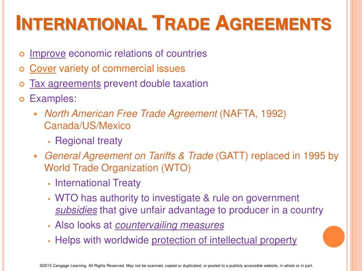 international trade agreements and organizations I examine the impact of depth and rigidity in international trade agreements   keywords international law, international organization, international trade.