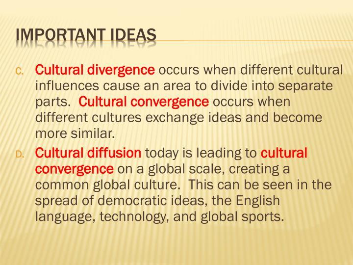 culture divergence