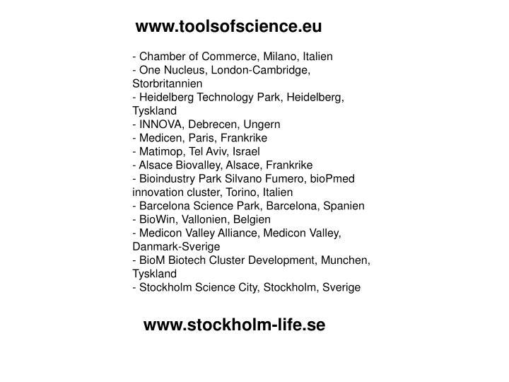 www.toolsofscience.eu